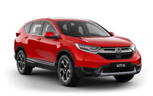 Honda crv hybrid bilmodell start